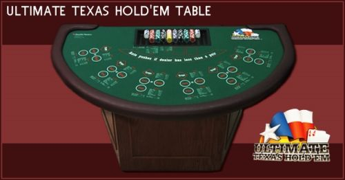 Ultimate Texas Hold'Em Table